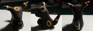 Umbreon Jizo by ChibiSilverWings