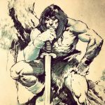 John Buscema Inks by Wes-StClaire