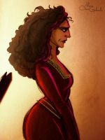 Mother Gothel by MarioOscarGabriele