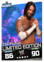cm punk smackdown card by Patrick75020
