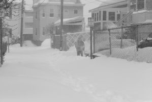 2015 January Blizzard, Snow Blower Time by Miss-Tbones