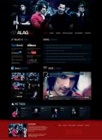 ALAG official Website by muddassir