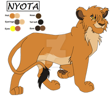 Nyota for Rinjapine by Lil-Cheetah