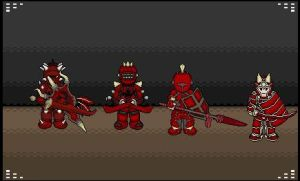 The four brothers by Blackhawk2955
