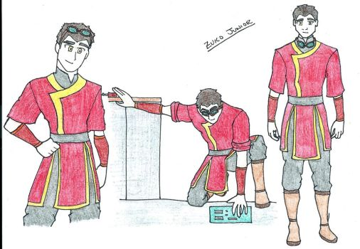Zuko Junior Avatar OC by theblindbandit1