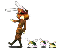 Brave Little Bunnies by Miamelly