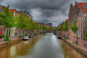 HDR Streets of Leiden by Swaal