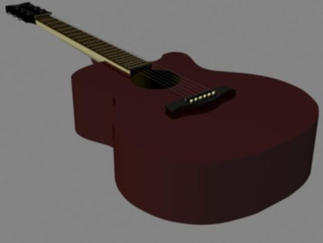 just a guitar.. - Scene WIP by Shazbot711