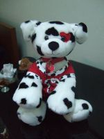 Valentines Heart Dalmation by StarRacerEva