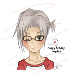 Buon Compleanno Gokudera by Penguinlovex27