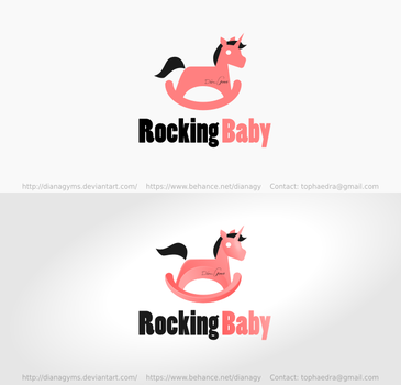 Rocking Baby Logo by DianaGyms