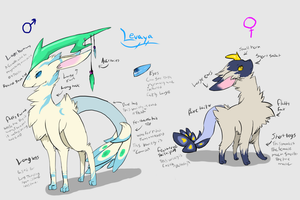 Closed species info: Levaya by FrackkinKraken