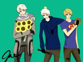 HETALIA: America, Russia, Prussia by luck7151
