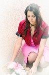 Aerith Final Fantasy VII Cosplay by Priestess-of-Avalon