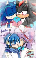 Happy Valentines Day (Sonadow,KaitoXGakupo) by SonicMiku