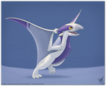 Pterodragon Take Off by thazumi