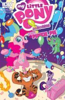 MLP: FiM Exclusive Chapel Hill Comics Cover by Yamino
