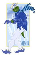 Snow Miser -commission- by prefight-DONUT