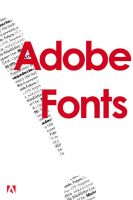 Adobe Fonts by deadlikedisco