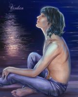Moonlight Sonata Portret2 by Venlian
