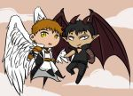 Angel and demon by Aidiki-chan