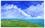 Watercolor Clouds by Zalcoti