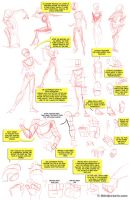 Figure Drawing Notes by ThirdPotato