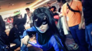 Lady Nightwing by juliettebelle