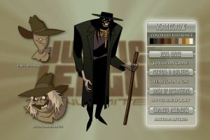 Scarecrow Character sheet by Veil1