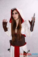 Female Altair from Assassin's Creed cosplay by SoranoTenshii