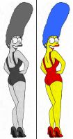 Pin up Marge by Homey104
