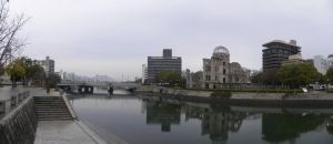 Aioi Bridge and Genbaku Dome by RiverKpocc
