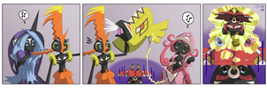Tapu's problems - #1 Tapu Bulu has no hair