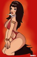 Vampirella Pinup by TheCosbinator