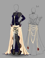 Outfit design - 153  - closed by LotusLumino