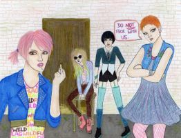 Girl Gang by planned-chaos