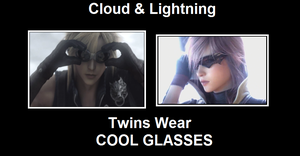 Cloud and Lightning GLASSES by FFSteF09
