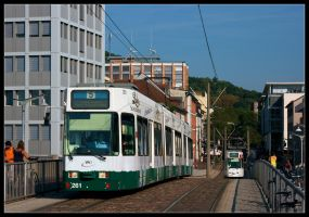 Good Evening, Freiburg by TramwayPhotography