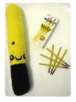 Choco Banana Pocky by kickass-peanut