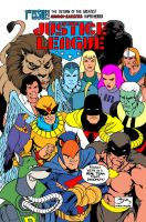 Hanna Barbera Justice  League International by Rankore2000