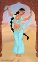 Bollywood Princess Jasmine by AnneMarie1986