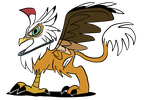 Feather Griffin by JoeyWaggoner