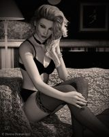 Boudoir Noir by donnaDomenitzo