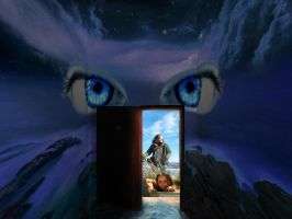 Door Opening Upon the Sight of Midday by jesus-at-art