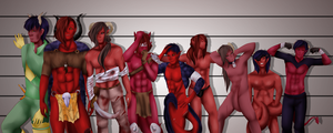Join Edia we have Bloodskins by Apoca-Chan