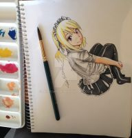 Lucy  - Water Colours by PedroMA26