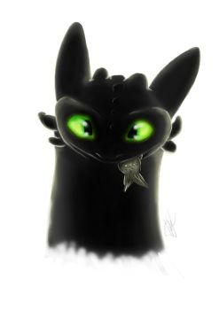 HTTYD - Toothless by sharrm