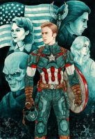 Steve Rogers - The Soldier by danielfoez