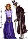 Emily and Hawkins by Agatha-Macpie