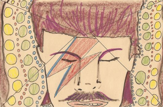 Get Your Bowie Stache by andystrong